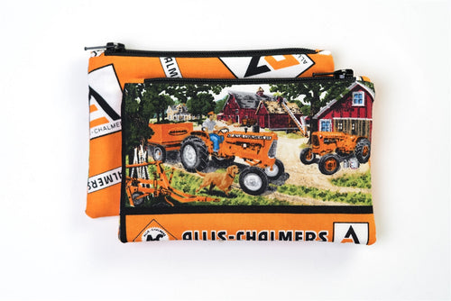 Allis Chalmers D-15 Zip Purse