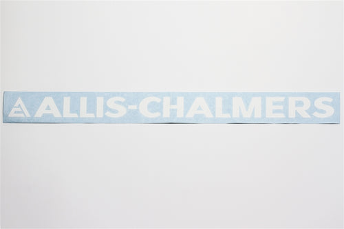 Allis Chalmers Letter Decal