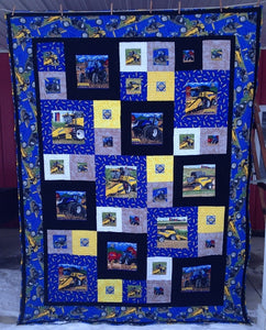 New Holland Block Party Quilt, Queen-Size