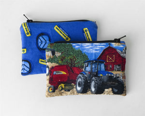 New Holland Tractor Zip Purse