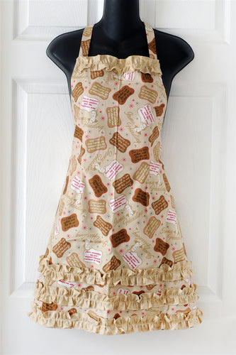 Irma Harding Quotes Apron (International Harvester), cream