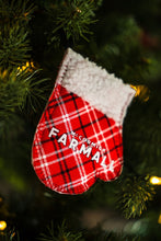 Load image into Gallery viewer, IH Farmall Logo Ornaments, mini mittens