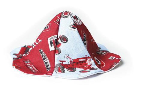 Farmall Tractor Sun Hat, 0-6 Month