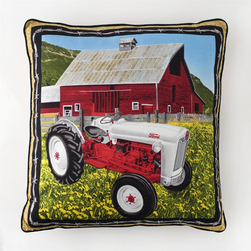 Ford Jubilee Throw Pillow