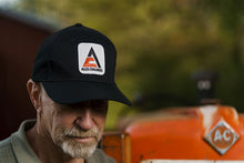 Load image into Gallery viewer, Allis Chalmers Solid Black Hat