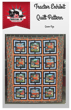 Load image into Gallery viewer, Allis Chalmers Tractor Exhibit Quilt Pattern