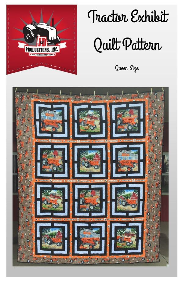 Allis Chalmers Tractor Exhibit Quilt Pattern