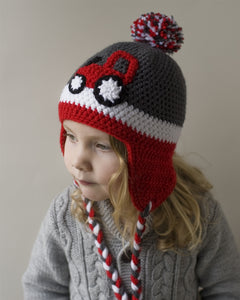 Red Tractor Kids' Winter Hat