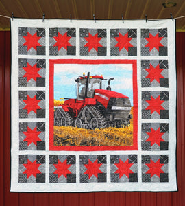 CaseIH Track Tractor 500T Field Star Quilt