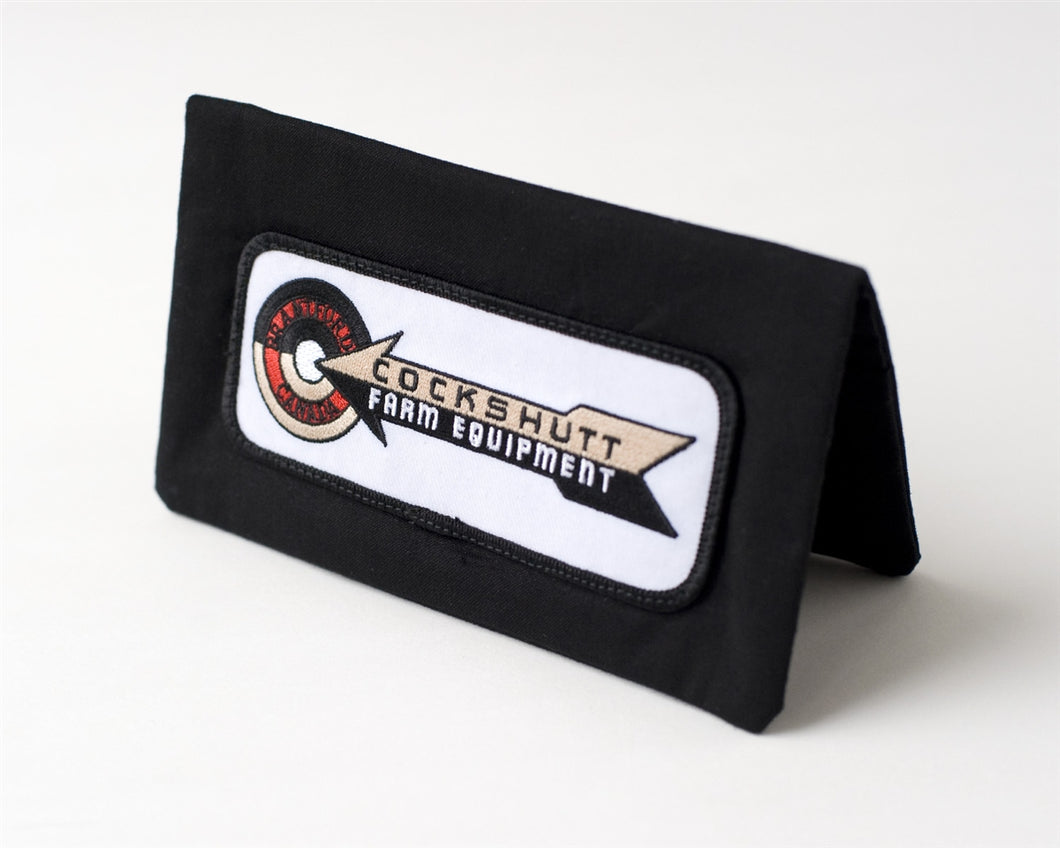 Cockshutt Logo Checkbook Cover