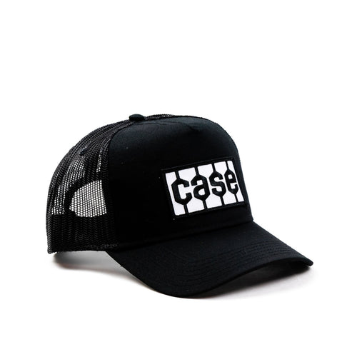 Case Tire Tread Logo Hat, Trucker Style