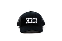 Load image into Gallery viewer, Case Tire Tread Logo Hat, Black Mesh