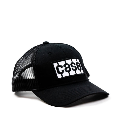 Case Tire Tread Logo Hat, Black Mesh