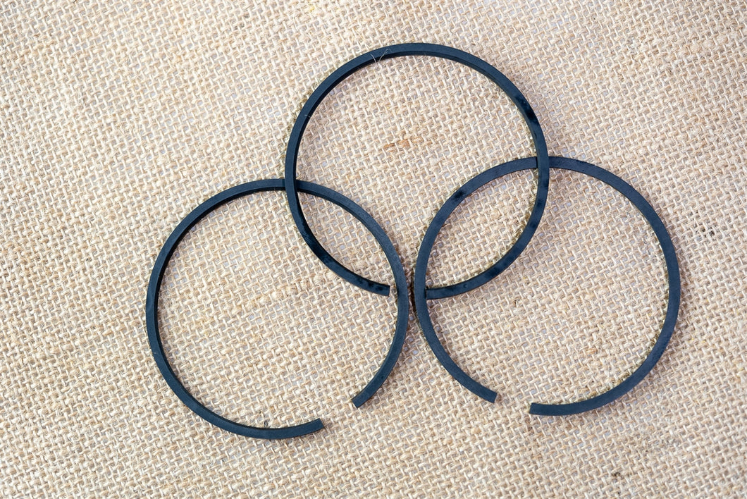 Set of Three Rings for Hydraulic Piston
