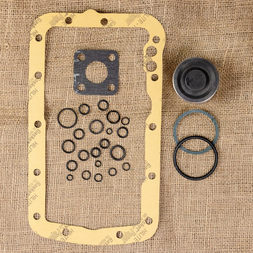 Basic Lift Cover Repair Kit: Gaskets with Piston