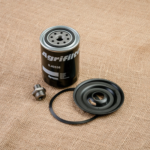 Oil Filter Adapter Kit for Ford Tractors