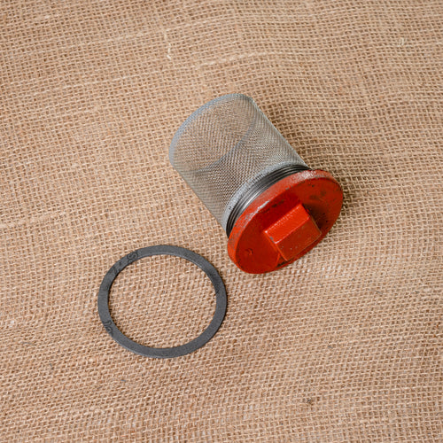 Oil Drain Plug with Strainer and Gasket