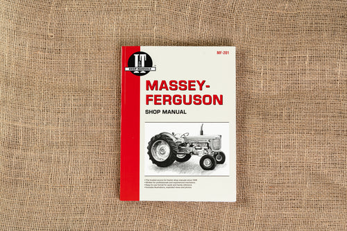 Massey Ferguson Shop Service Manual