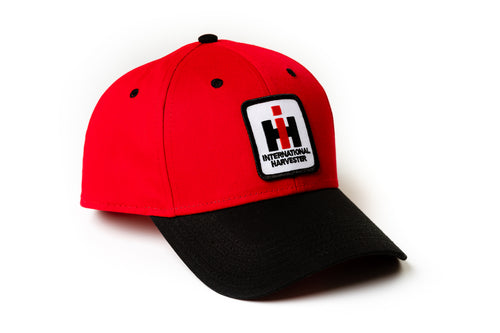 IH Hat, red and black