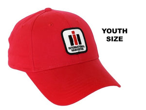 International Harvester Logo Hat, youth size