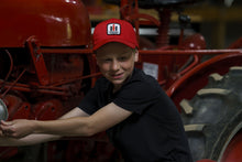 Load image into Gallery viewer, International Harvester Logo Hat, youth size