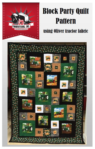 Block Party Quilt Pattern: Oliver