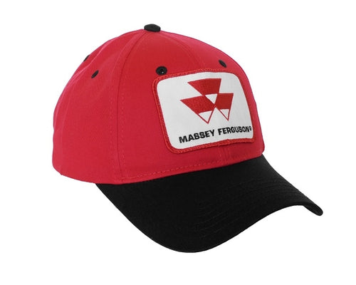 Massey Ferguson Hat, red and black