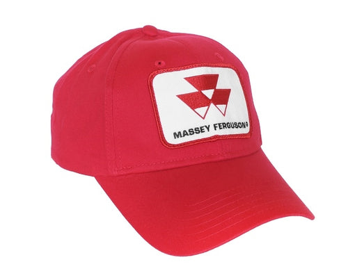 Massey Ferguson Hat, solid red