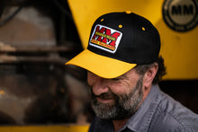 Load image into Gallery viewer, Minneapolis Moline Hat, Black and Gold