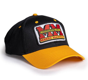 Minneapolis Moline Hat, Black and Gold