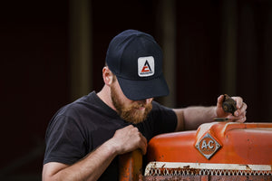 New Allis Chalmers Hat, Flexible Fit