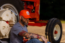 Load image into Gallery viewer, Allis Chalmers Hat, new logo, solid orange