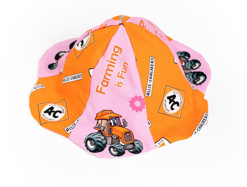 Allis Chalmers Sun Hat, 0-6 Month, Pink
