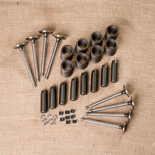 Valve Kit: Valves, Springs, Locks and Guides