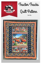 Load image into Gallery viewer, Tractor Tracks Quilt Pattern