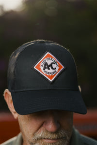 Vintage Allis Chalmers Logo Hat with Mesh Back