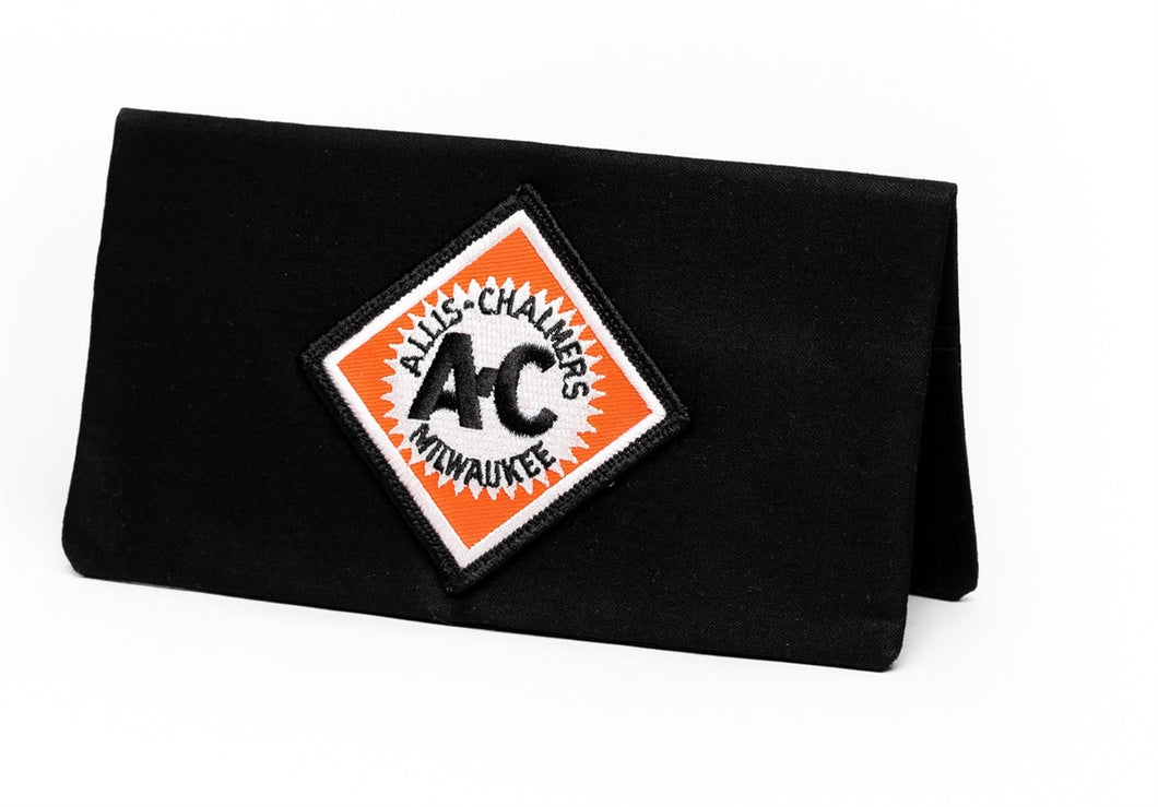 Vintage Allis Chalmers Logo Checkbook Cover