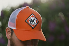 Load image into Gallery viewer, Vintage AC Hat, Orange with Mesh Back