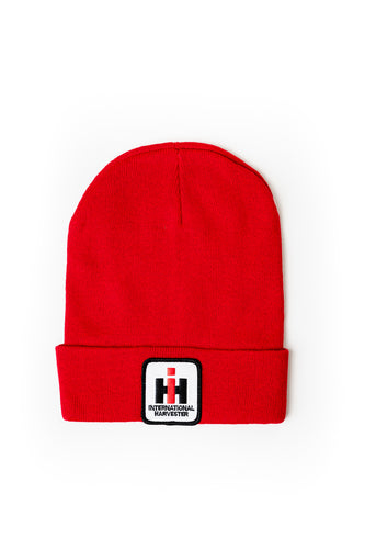 IH Knit Hat, Red