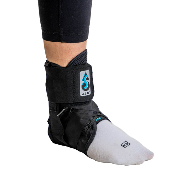 ASO Ankle Orthosis w/Stays (Blk)