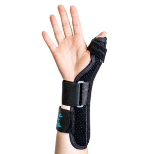 Bilateral Suede Thumb Splint