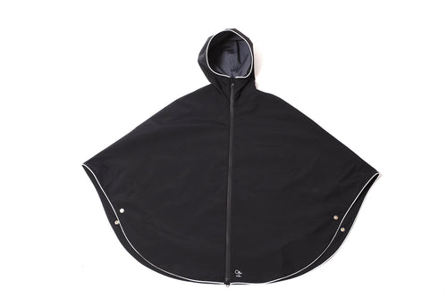 Otto London Urban Poncho Black