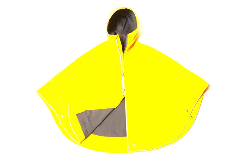 Otto Urban Poncho Yellow