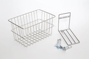 tokyobike Original Wire Deep Basket Silver
