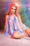 Space Raver Babydoll Dress *4 Print Combos