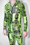 90s Rave Poster Mens Unisex Jumpsuit *6 Prints Available
