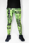 PRE ORDER 90s Rave Poster UNISEXY Leggings *6 Prints Available