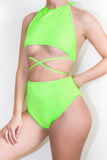 Neon Super Crop Bikini Top *4 Colours