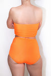 Neon High Waist Bikini Brief *4 Colours