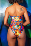 DAZZLE & JOLT X LOONIGANS Reversible Risque High Rise Bikini Bottom ♻ *3 Prints